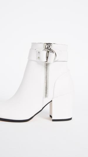 Johanna Block Heel Ankle Boots Steven