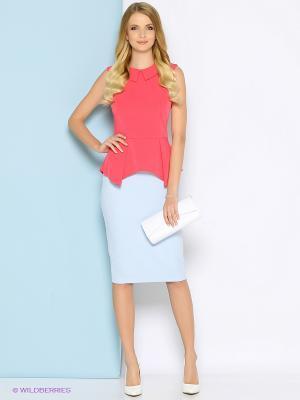 Блузка Stets. Цвет: коралловый