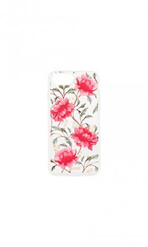 Чехол для iphone 7 madarin bloom Sonix. Цвет: розовый