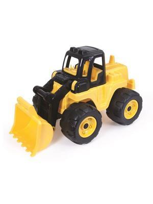Экскаватор черно-желтого цвета 69 см DOLU. Цвет: желтый