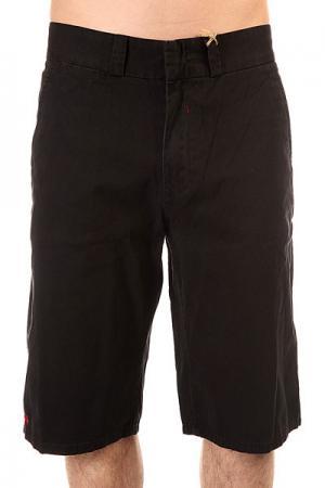Шорты джинсовые  Pragmatic Chino Black Independent. Цвет: черный
