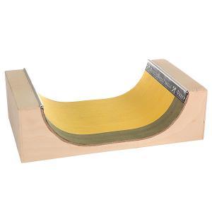Фигура для фингерпарка  МиниРампа S Beige/Yellow/Green Turbo-FB. Цвет: бежевый,желтый,зеленый