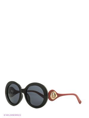 Солнцезащитные очки Vita pelle. Цвет: красный