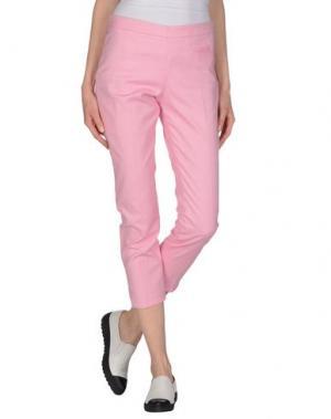 Повседневные брюки TRUE ROYAL. Цвет: светло-фиолетовый