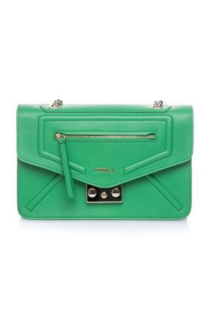 Зеленая сумка furla