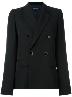 Double-breasted blazer Vanessa Seward. Цвет: чёрный