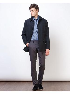 Пальто INCITY. Цвет: темно-серый