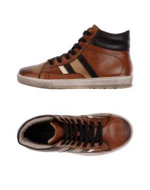 Высокие кеды и кроссовки JARRETT. Цвет: коричневый