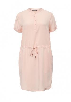 Платье Calvin Klein Jeans. Цвет: розовый