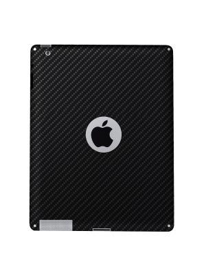 Карбоновая плёнка для задней панели iPad 2 Belsis. Цвет: черный