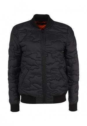 Куртка утепленная French Connection. Цвет: черный