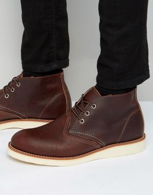Red Wing Кожаные ботинки чукка. Цвет: коричневый