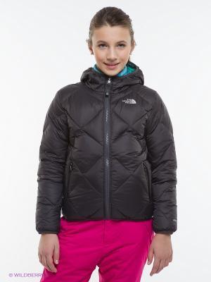 Куртка The North Face. Цвет: зеленый, антрацитовый, голубой