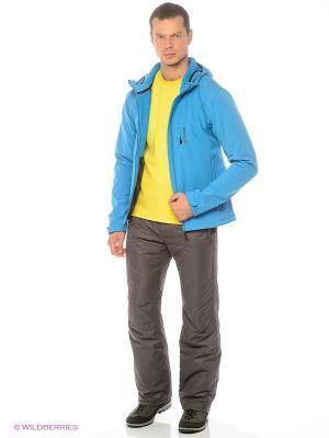 Куртка BRUNOTTI. Цвет: синий