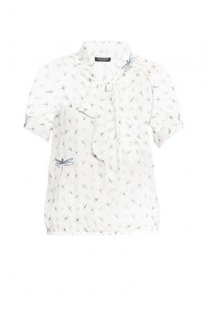 Блуза из вискозы 163314 Cristina Effe. Цвет: разноцветный