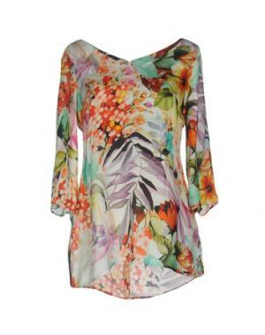 Блузка CARLA MONTANARINI. Цвет: белый