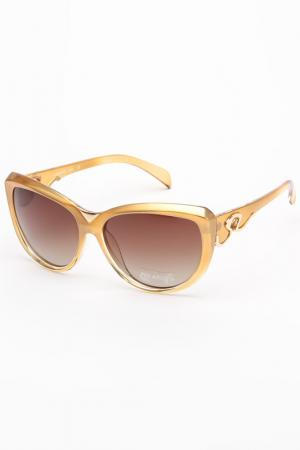 Очки солнцезащитные Arizona. Цвет: золотой