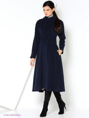 Пальто Анна Чапман. Цвет: черный