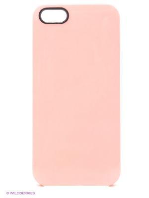 Чехол для iPhone 5/5s Spectrum - Salmon Kawaii Factory. Цвет: бледно-розовый