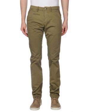 Повседневные брюки UNIFORM. Цвет: зеленый-милитари