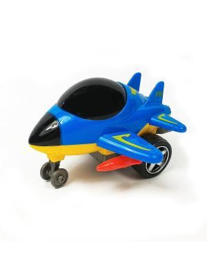 Самолет Азбука Тойс. Цвет: синий