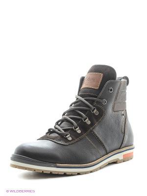 Ботинки S.OLIVER. Цвет: темно-коричневый