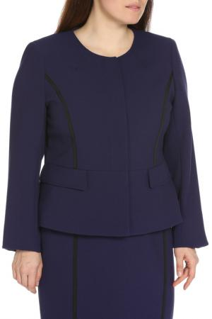 Пиджак Diana Gallesi. Цвет: фиолетовый