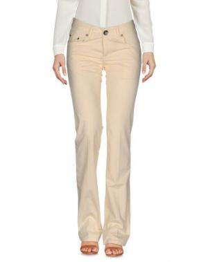 Повседневные брюки SEVEN7. Цвет: песочный