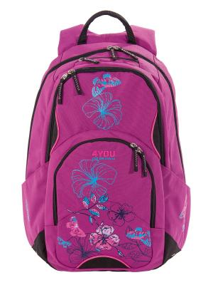 Рюкзак 4YOU FLOW РАЙ. Цвет: розовый