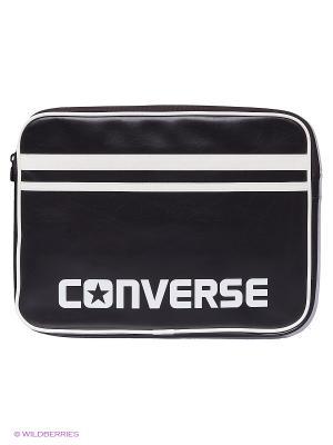 Сумка для ноутбука Laptop Sleeve 13 Inch PU Converse. Цвет: черный