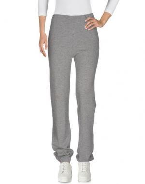 Повседневные брюки ACTIVE CASHMERE. Цвет: серый