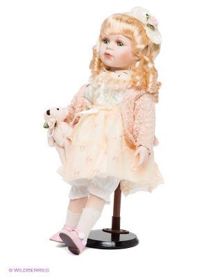 Фарфоровая кукла Лина Lisa Jane. Цвет: кремовый