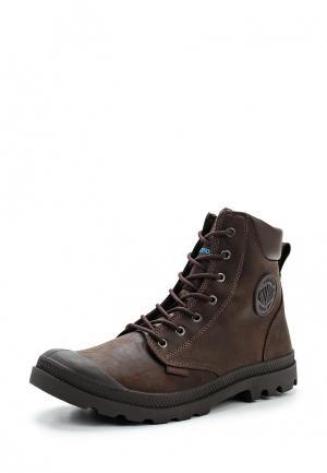 Ботинки Palladium. Цвет: коричневый