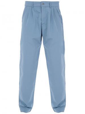 Basil trouser B Store. Цвет: синий
