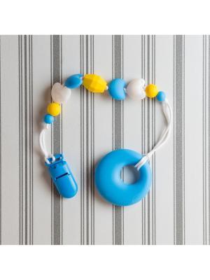 Игрушки-подвески Краски лета. Цвет: синий, белый, желтый