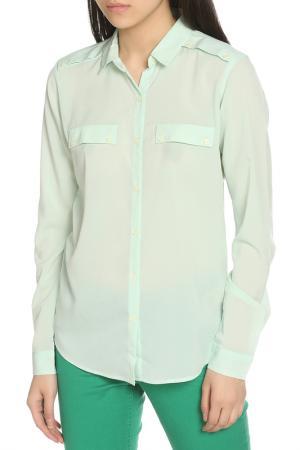 Рубашка Scotch&Soda. Цвет: light green, светло-зеленый