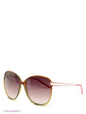 Солнцезащитные очки GF Ferre. Цвет: коричневый, розовый