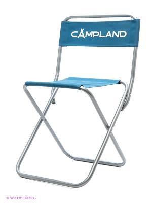 Стул рыбака складной Campland. Цвет: синий
