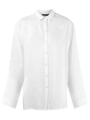 Рубашка с классическим воротником Uma | Raquel Davidowicz. Цвет: белый