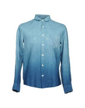 Pубашка BLUE JAPAN. Цвет: небесно-голубой