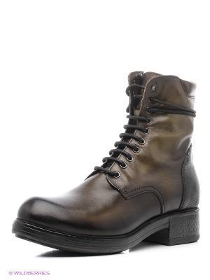 Ботинки Mascotte. Цвет: хаки