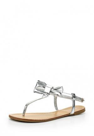 Сандалии Retro Shoes. Цвет: серебряный
