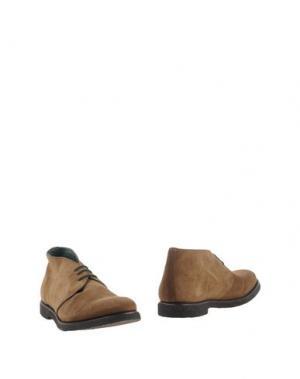 Полусапоги и высокие ботинки ANDREA VENTURA FIRENZE. Цвет: хаки