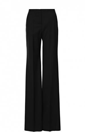 Расклешенные брюки со стрелками Burberry. Цвет: черный