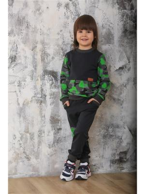 Спортивный костюм LFC. Цвет: зеленый,серый,темно-серый