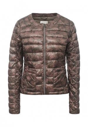 Куртка утепленная Gas. Цвет: коричневый