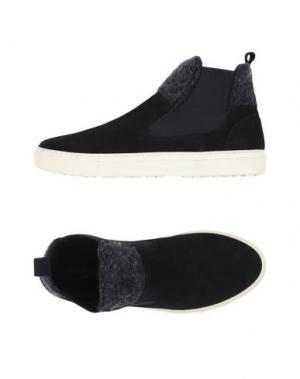 Высокие кеды и кроссовки MANUEL RITZ. Цвет: черный