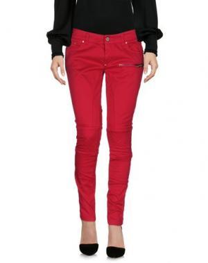 Повседневные брюки GAETANO NAVARRA. Цвет: пурпурный
