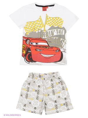Пижама Cars. Цвет: белый