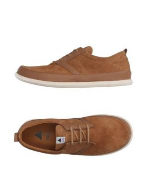 Обувь на шнурках VOLTA. Цвет: верблюжий